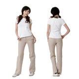пустая белизна рубашки Стоковая Фотография RF