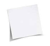 Пустая белая бумага Стоковые Фотографии RF