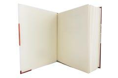 Пустая белая книга Стоковое Изображение RF