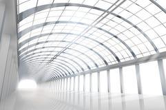 Пустая большая зала также вектор иллюстрации притяжки corel Стоковые Фото