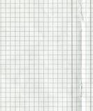 Пустая бумага математики Стоковые Изображения