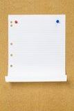 пустая бумага Стоковое Изображение RF