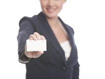 пустая визитная карточка Стоковые Изображения