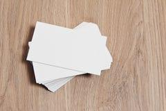 пустая визитная карточка Стоковая Фотография