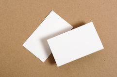 пустая визитная карточка Стоковое фото RF