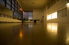 пустая гимнастика Стоковое фото RF