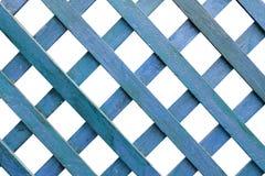 пустая голубая рамка деревянная Стоковое Изображение RF