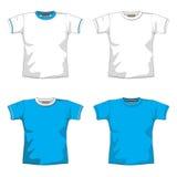 пустая голубая рубашка t Стоковые Изображения RF