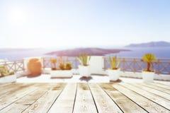 Пустая деревянная доска стоковое фото rf