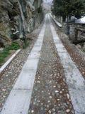 пустая дорога горы стоковые изображения