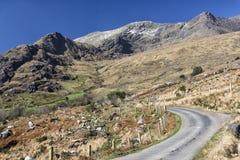 Пустая дорога Ирландия 0015 Стоковая Фотография