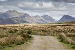 Пустая дорога Ирландия 0018 Стоковое Изображение RF