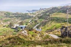 Пустая дорога Ирландия 0024 Стоковое фото RF