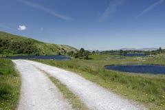 Пустая дорога Ирландия 0027 Стоковая Фотография RF