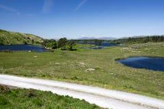 Пустая дорога Ирландия 0028 Стоковое фото RF