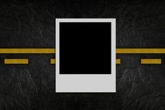 пустая дорога фото картины Стоковое фото RF