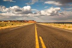 пустая дорога Стоковые Изображения RF
