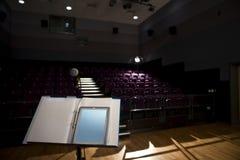 пустая лекция по залы Стоковая Фотография