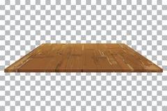 Пустая деревянная предпосылка таблицы полки бесплатная иллюстрация