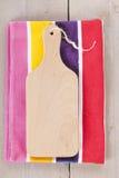 Пустая деревянная разделочная доска Стоковая Фотография RF