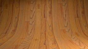 Пустая деревянная студия Стоковые Фотографии RF