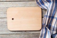 Пустая деревянная таблица Стоковое Изображение RF