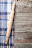 Пустая деревянная таблица Стоковое Изображение