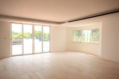 пустая живущая комната Стоковые Фотографии RF