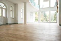 пустая живущая комната Стоковая Фотография