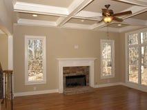 пустая живущая роскошная комната Стоковое Фото