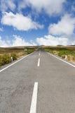 пустая законцовки дорога никогда Стоковые Фотографии RF