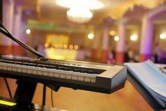 Пустая зала во время партии или приема по случаю бракосочетания Стоковые Фото