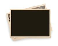 Пустая изолированная бумага фото сбора винограда стоковые фотографии rf