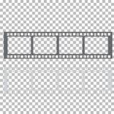 Пустая иллюстрация запаса рамки фильма Изображение вектора фильма рамки Стоковые Фотографии RF