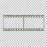 Пустая иллюстрация запаса рамки фильма Изображение вектора фильма рамки Стоковая Фотография