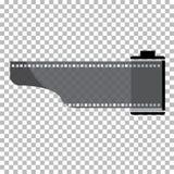 Пустая иллюстрация запаса рамки фильма Изображение вектора фильма рамки Стоковая Фотография RF