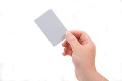 пустая карточка стоковые фото