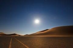 Пустая квартальная пустыня стоковая фотография rf