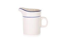 Пустая керамическая чашка Стоковое Изображение RF