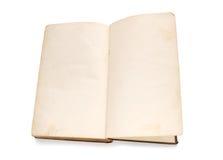 пустая книга вызывает vintage Стоковая Фотография