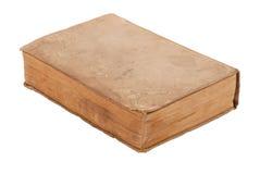 пустая книга изолировала старую белизну Стоковое фото RF
