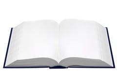 пустая книга открытая стоковое изображение