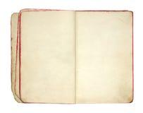 пустая книга старая раскрывает Стоковые Фотографии RF