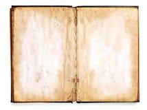пустая книга старая Стоковое Изображение
