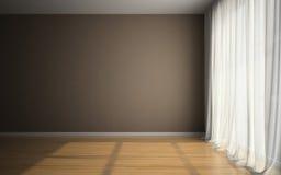 Пустая комната в нанимателях Стоковое Фото