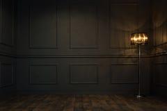 Пустая комната год сбора винограда Стоковые Фотографии RF