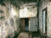 Пустая комната очень страшная Стоковая Фотография