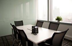 Пустая комната правления Стоковое Изображение