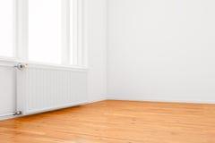 пустая комната радиатора Стоковые Изображения RF