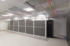 Пустая комната сервера Стоковое фото RF